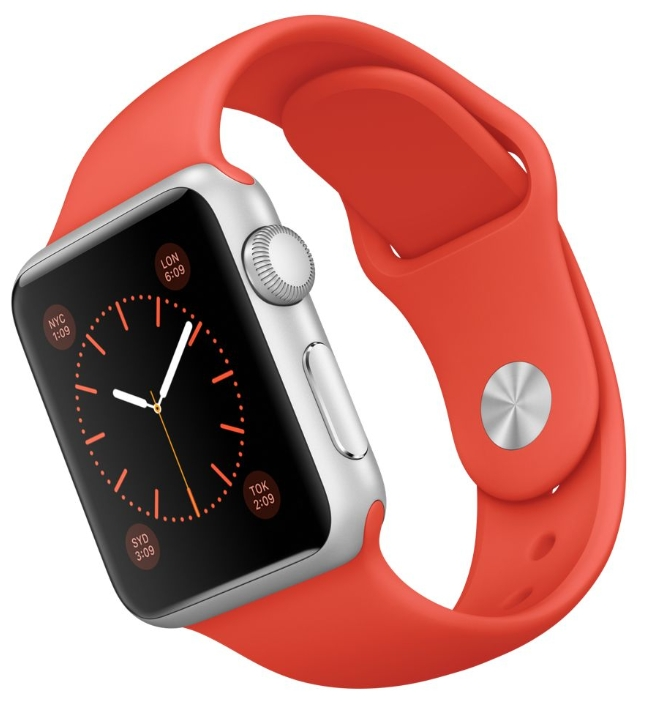 ����� ���� apple Watch Sport 38mm with Sport Band ��������� MLCF2RU/A
