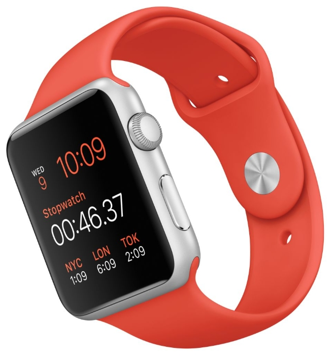 ����� ���� apple Watch with Sport Band ����������� ��������, ������� ����������� MLC42RU/A