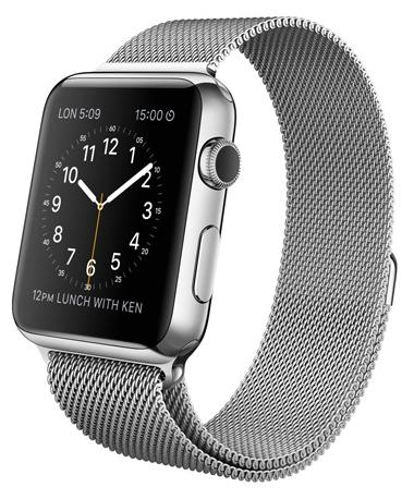 ����� ���� Watch Apple 42mm Stainless Steel/Milanese Loop MJ3Y2RU/A