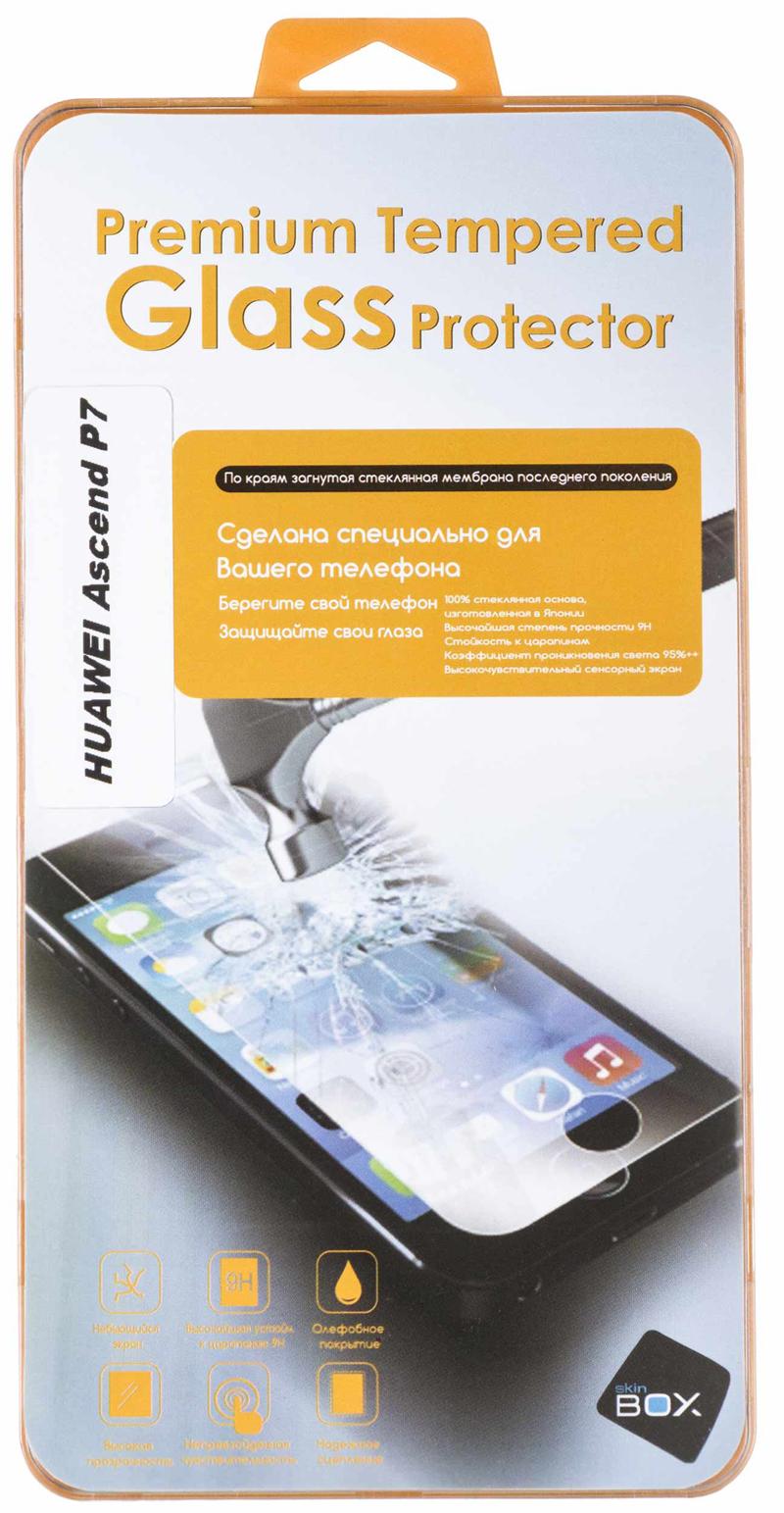 SkinBox ��� Huawei Ascend P7 (0.3mm 2.5D) ���������