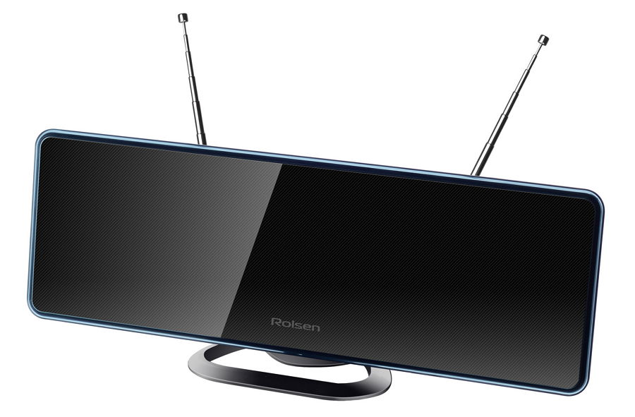 Антенна телевизионная Rolsen RDA-280 (активная, DVB-T/T2) 1-RLDB-RDA-280