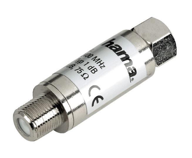 Кабель (шнур) Фильтр Hama H-44262 (для коаксиальных соединений, защита от перенапряжений)