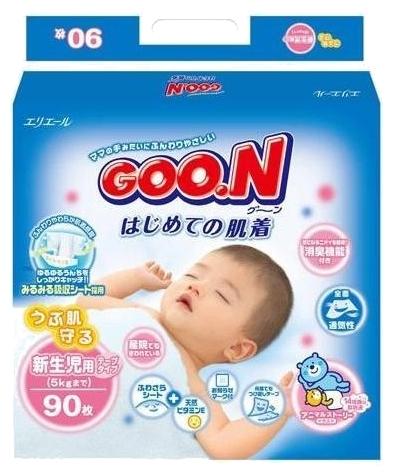 Подгузник Goon 0-5 кг (90 шт) NB