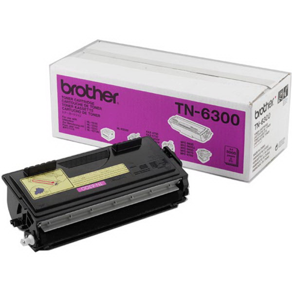 Картридж Brother TN-6300 Чёрный 3000 стр. TN6300