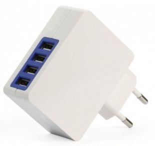 Зарядное устройство SmartBuy QUATTRO Белое SBP-8100