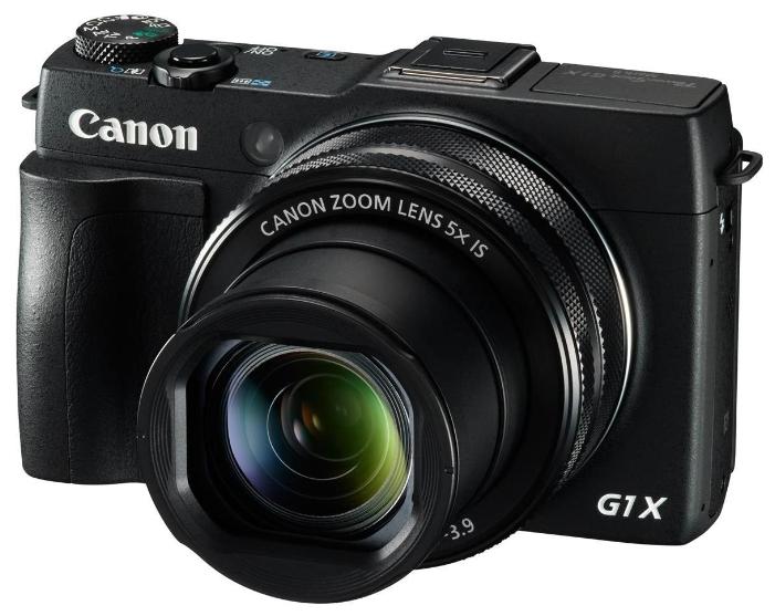 Цифровой фотоаппарат Canon PowerShot G1 X MARK II, черный 9167B002