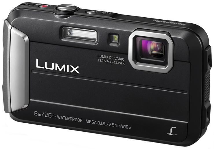 Цифровой фотоаппарат Panasonic Lumix DMC-FT30 черный DMC-FT30EE-K