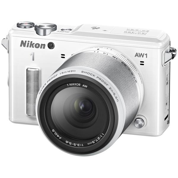 �������� ����������� Nikon 1 AW1 KIT (11-27.5mm) White