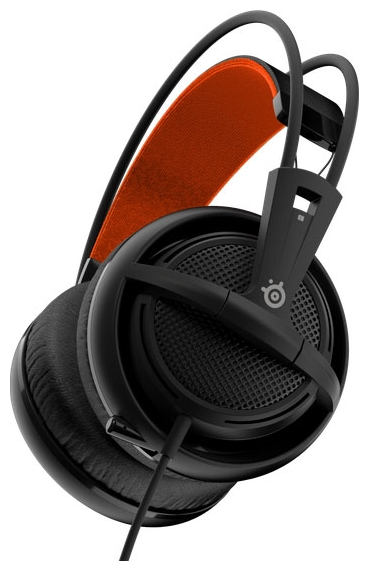 SteelSeries Siberia 200, чёрная