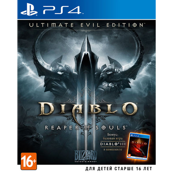 Игра для PS4 SONY Diablo III:Reaper of Souls. Ultimate Evil Edition