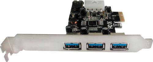 Контроллер Speed-Dragon Speed Dragon (EU306A-3-BU01), 3 ext (USB3.0) + 1 int (USB3.0), PCI-Ex1