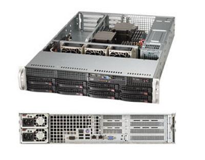 Сервер Supermicro 6027R-WRF (2U, 2x 740W, SAS/SATA) SYS-6027R-WRF