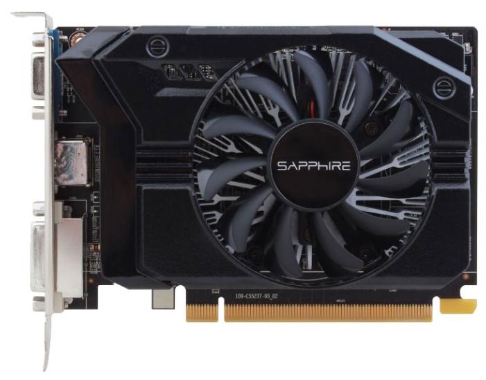 Видеокарта Radeon Sapphire Radeon R7 250E 925Mhz PCI-E 3.0 2048Mb 1600Mhz 128 bit DVI HDMI HDCP 11215-21-20G