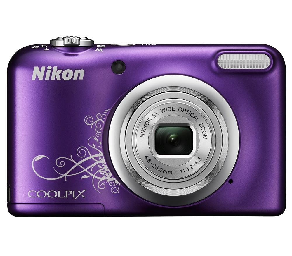 Nikon Coolpix A10, фиолетовый с рисунком