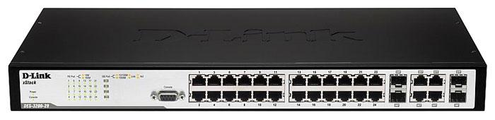 Коммутатор (switch) D-link DES-3200-28/C1A
