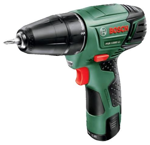Дрель Bosch PSR 1080 LI 1.5Ah x2 Case, [0.603.9a2.021] 06039a2021