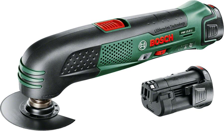 Bosch PMF 10.8 Li (многофункциональный инструмент), 2 аккумулятора [0.603.101.926]