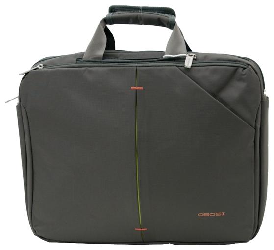 Сумка для ноутбука Obosi 811A046 Grey-Green