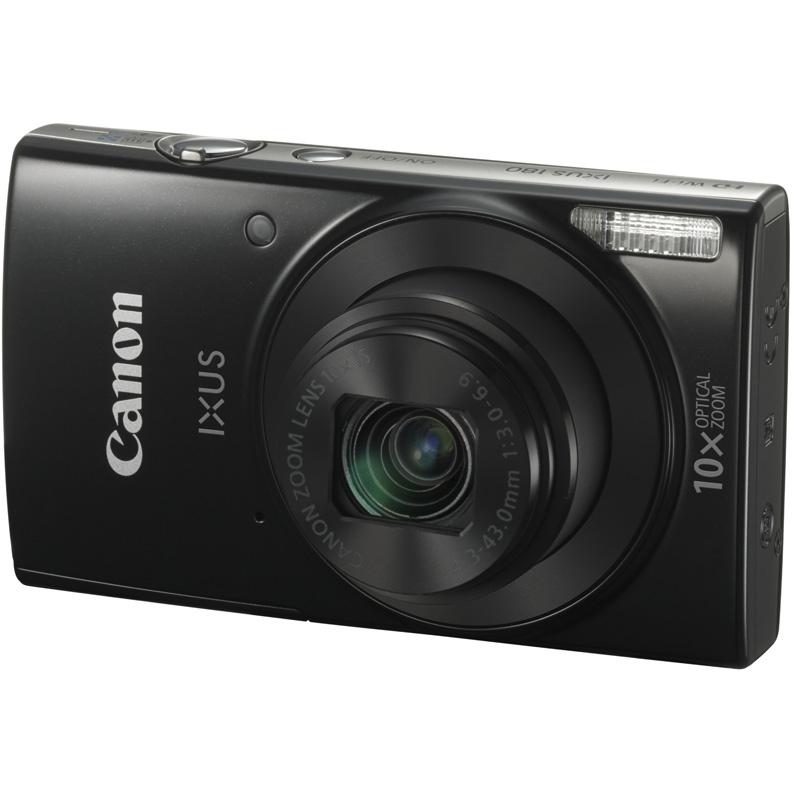 Цифровой фотоаппарат Canon Digital IXUS 180 Black 1085C001