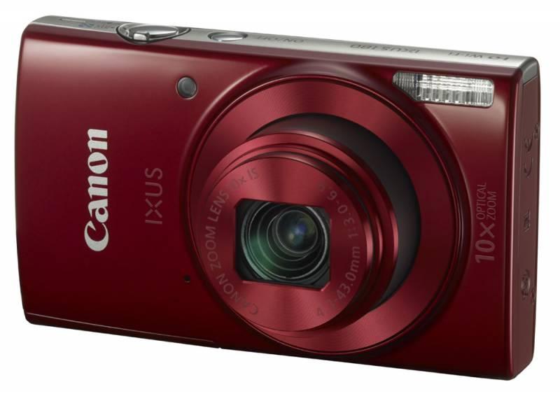 Цифровой фотоаппарат Canon IXUS 180 Red 1088C001