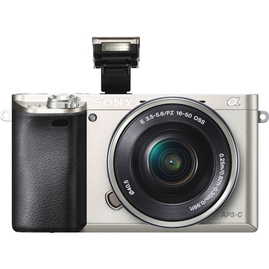 Цифровой фотоаппарат SONY Alpha A6000 Kit (SEL-1650), серебристый ILCE6000LS.CEC