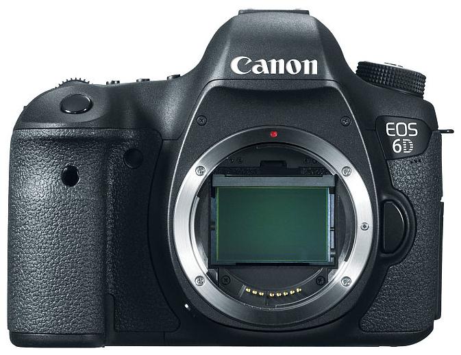 Цифровой фотоаппарат Canon EOS 6D WG Body Чёрный 8035B004