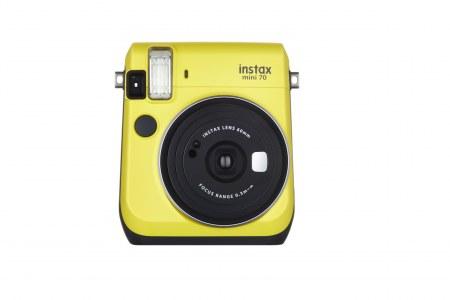 Фотоаппарат моментальной печати Fujifilm Instax Mini 70, желтый 16496110