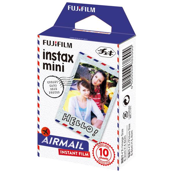 Картридж для фотоаппарата моментальной печати Fujifilm Instax Mini Airmail WW1 10/PK (10 листов)