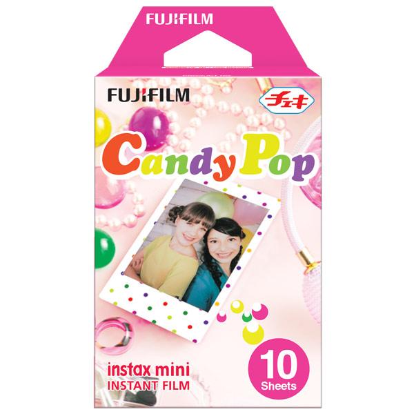 Картридж для фотоаппарата моментальной печати Fujifilm Instax Mini Candypop WW1 10/PK (10 листов)
