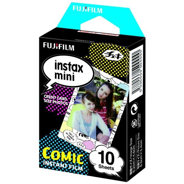 Картридж для фотоаппарата моментальной печати Fujifilm Instax Mini Comic WW1 10/PK (10 листов)