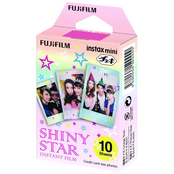 Картридж для фотоаппарата моментальной печати Fujifilm Instax Mini Shiny star WW1 10/PK (10 листов)