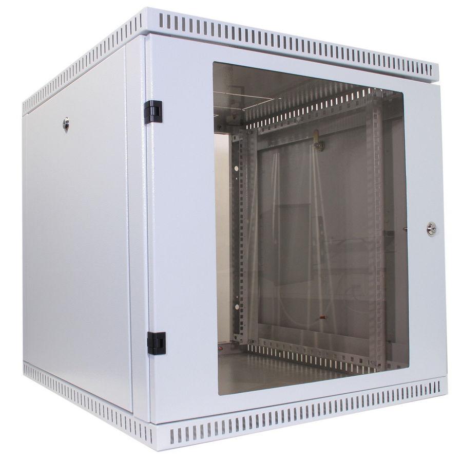 Телекоммуникационный шкаф WALLBOX 12-66 G, телекоммуникационный, настенный (19'' 12U) NT WALLBOX PRO 12-66 G