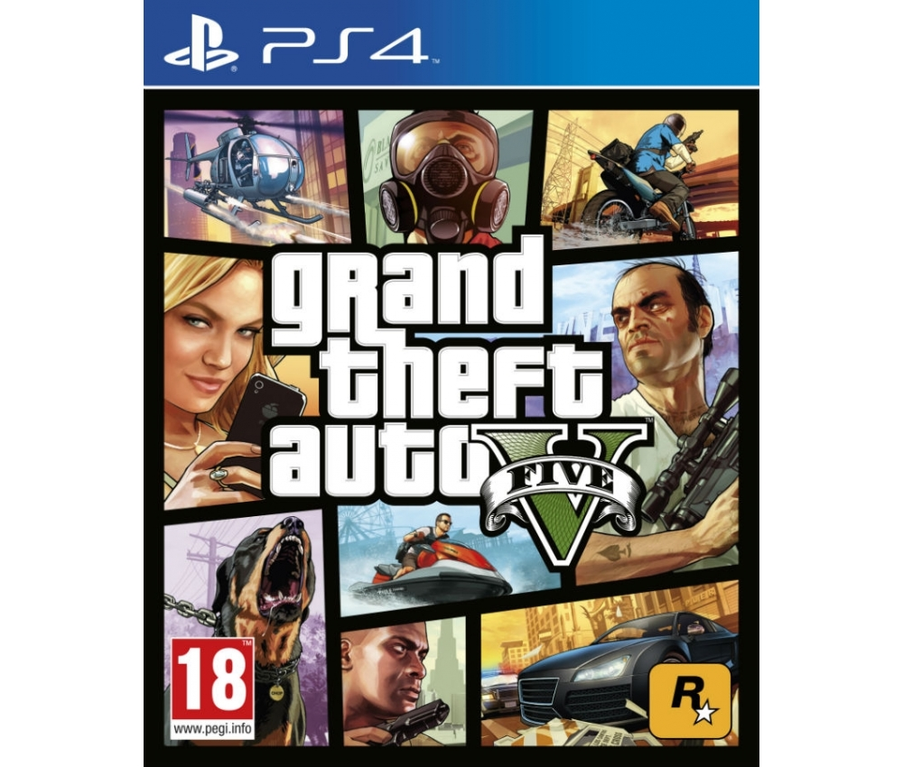 Игра для PS4 SONY Grand Theft Auto V PS4