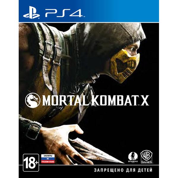 Игра для PS4 SONY Mortal Kombat X