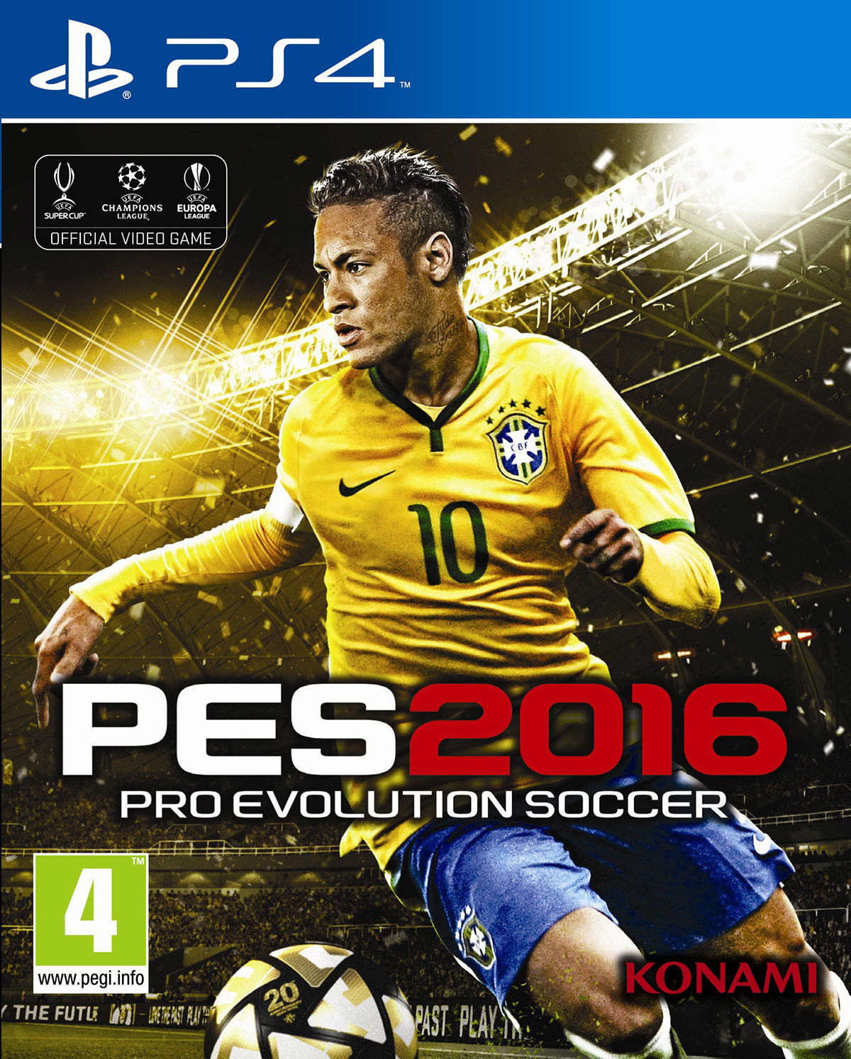Игра для PS4 SONY Pro Evolution Soccer 2016