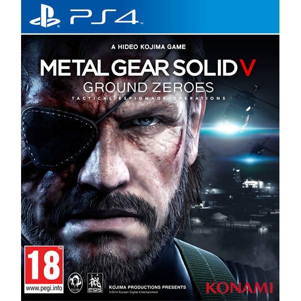 Игра для PS4 SONY Metal Gear Solid V: Ground Zeroes