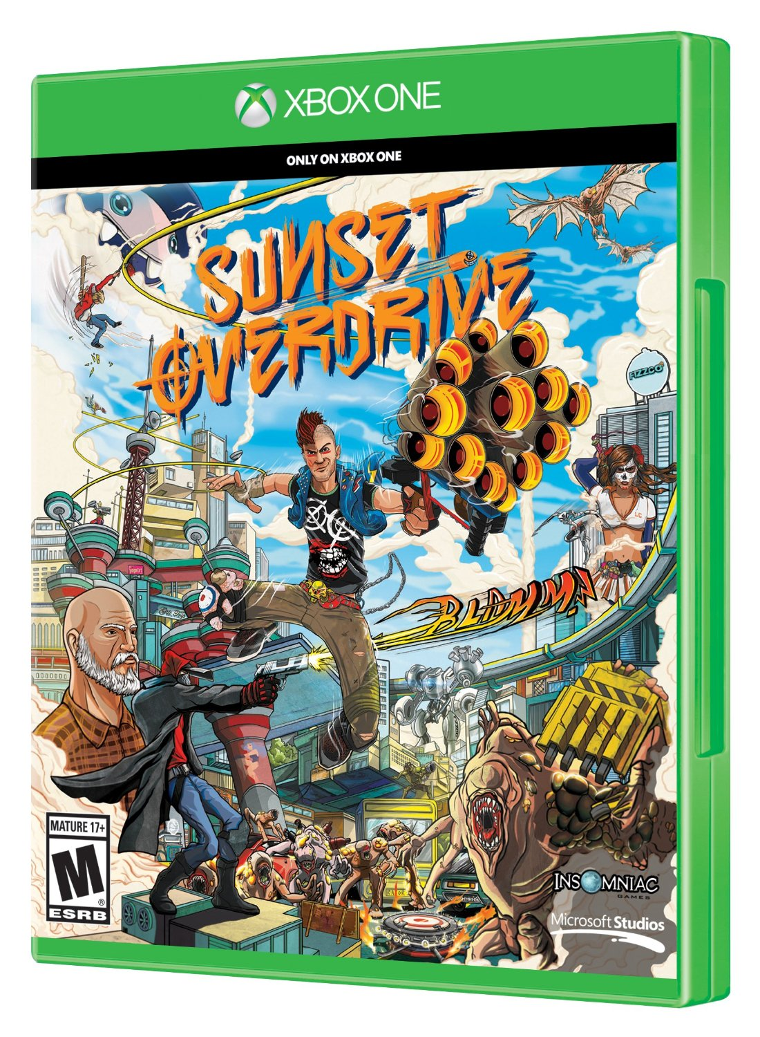 ���� ��� Xbox One MICROSOFT Sunset Overdrive