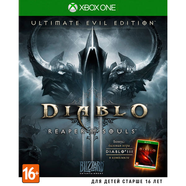 Игра для Xbox One MICROSOFT Diablo III:Reaper of Souls.Ultimate Evil Edition