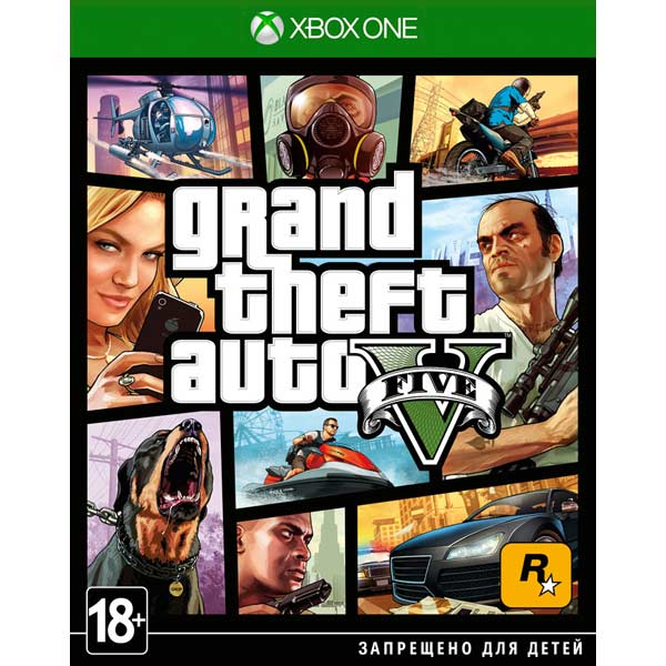 Игра для Xbox One MICROSOFT Xbox One Grand Theft Auto V