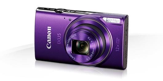 Цифровой фотоаппарат Canon IXUS 285 HS, фиолетовый 1082C001