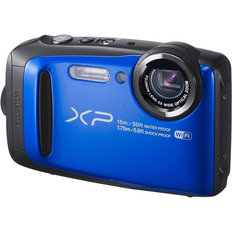 Цифровой фотоаппарат Fujifilm FinePix XP90, синий 16500052