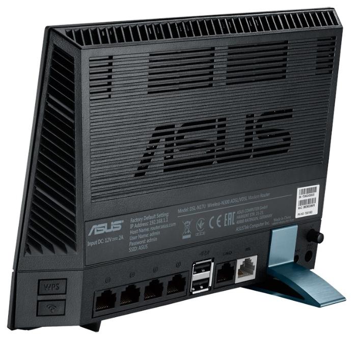 Модем ADSL+WiFi ASUS DSL-N17U