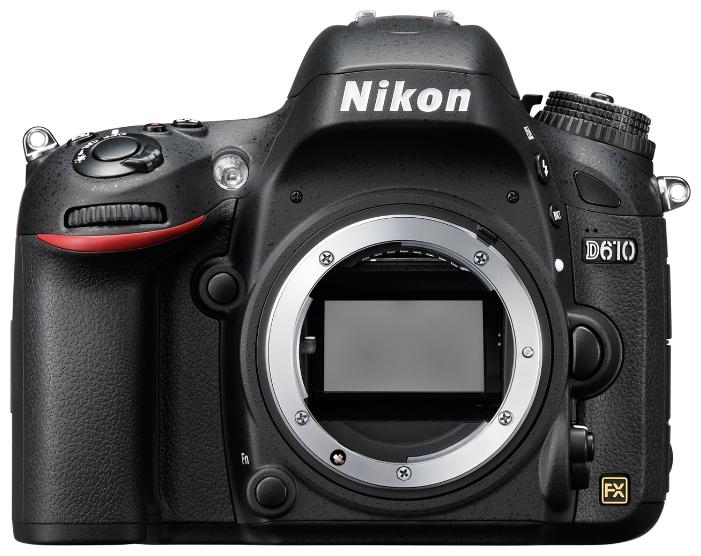Цифровой фотоаппарат Nikon D610 body, черный VBA430AE
