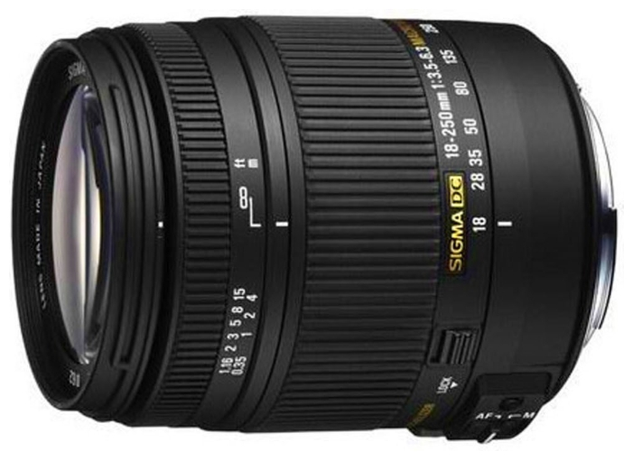 �������� ��� ���� Sigma AF 18-250mm f/3.5-6.3 DC MACRO OS HSM Canon 883954