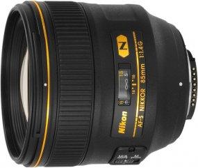 Объектив для фото Nikon 85 mm f/1.4G AF-S Nikkor JAA338DA