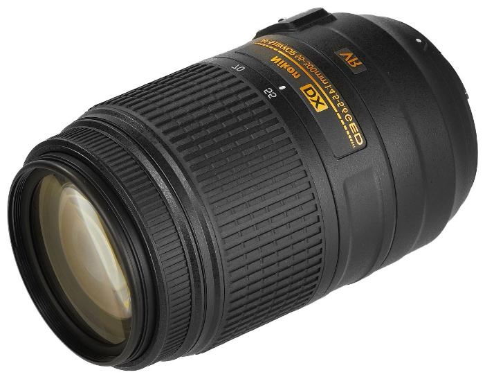 Объектив для фото Nikon 55-300 mm f/4.5-5.6G ED DX VR AF-S Nikkor JAA814DA