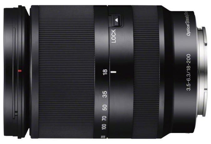 Объектив для фото SONY 18-200mm f/3.5-6.3 E LE (SEL-18200LE) SEL18200LE.AE