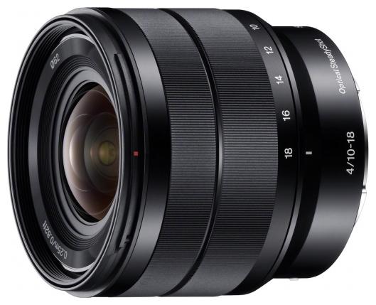 Объектив для фото SONY SEL-1018 (E 10-18 мм F4 OSS) SEL1018.AE