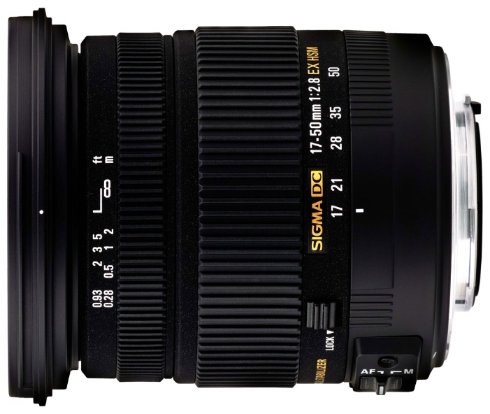Объектив для фото Sigma AF 17-50mm f/2.8 EX DC OS HSM Canon EF-S 583954