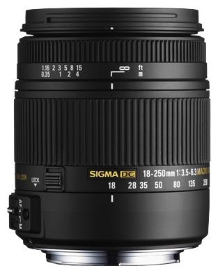 Объектив для фото Sigma AF 18-250mm f/3.5-6.3 DC OS HSM Macro Nikon F 883955
